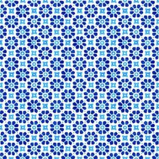 ペーパーナプキン(33)AMB:(5枚)Laureen Blue-AM386