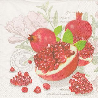 ペーパーナプキン(33)AMB:(5枚)Pomegranate-AM390