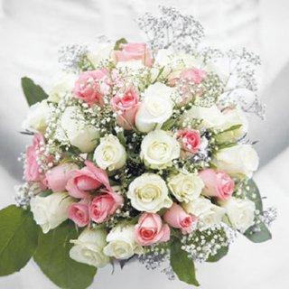 ペーパーナプキン(33)AMB:(5枚)Wedding Bouquet-AM449