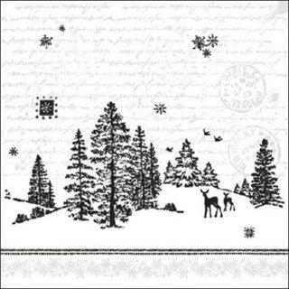 ペーパーナプキン(33)AMB:(5枚)Forest View -AM539