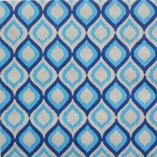ペーパーナプキン(33)Daisy:(5枚)Blue Pattern-DA39