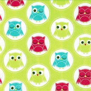 ペーパーナプキン(33)home:(5枚)Owle-HO121