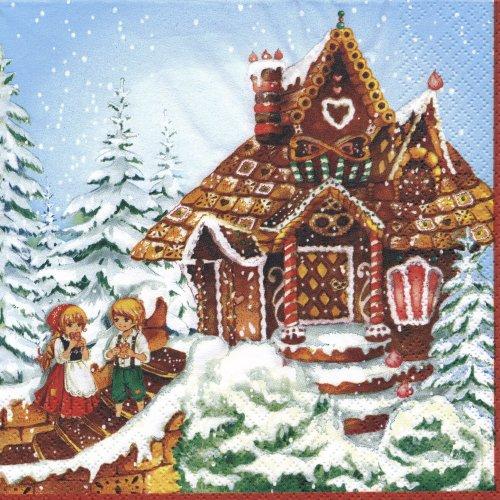 ペーパーナプキン(33)home:(5枚)Haensel und Gretel-HO148
