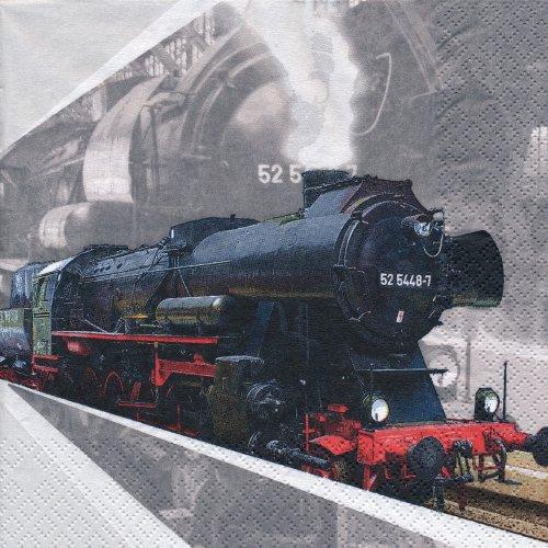 ペーパーナプキン(33)home:(5枚)機関車-HO157