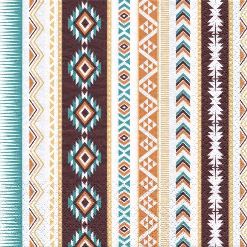 ペーパーナプキン(33)home:(5枚)Aztec-HO193