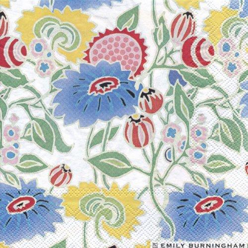 ペーパーナプキン(33)IHR:(5枚)WILD FLOWERS-IH213