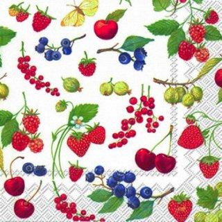 ペーパーナプキン(33)IHR:(5枚)FRUITS OF SUMMER-IH229