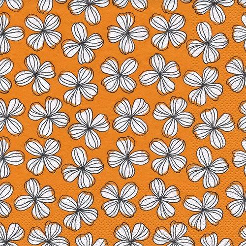 ペーパーナプキン(33)IHR:(5枚)LIV orange-IH336
