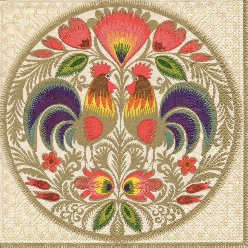 ペーパーナプキン(33)Maki:(5枚)Blumenmuster-MA42