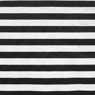 ペーパーナプキン(33)marimekkoマリメッコ:(5枚)【11】TASARAITA ブラック