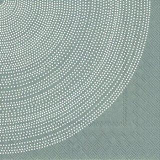 ペーパーナプキン(33)marimekkoマリメッコ:(5枚)【43】FOKUS grey
