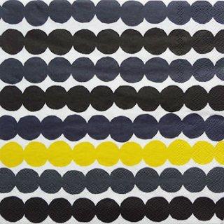 ペーパーナプキン(33)marimekkoマリメッコ:(5枚)【55】RASYMATTO yellow