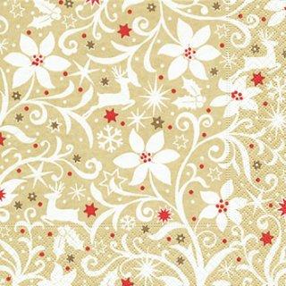 ペーパーナプキン(33)paper:(5枚)Winter ornament-PA214