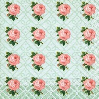 ペーパーナプキン(33)paper:(5枚)Small vintage roses-PA237