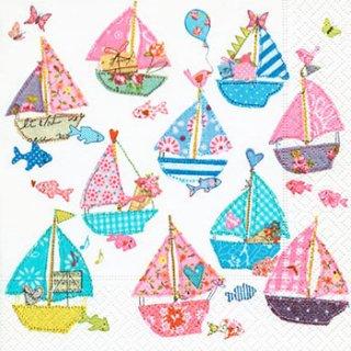 ペーパーナプキン(33)paper:(5枚)Sai boats-PA240