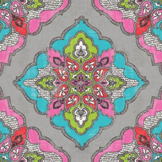 ペーパーナプキン(33)paw:(5枚)Kaleidoscope-PW54
