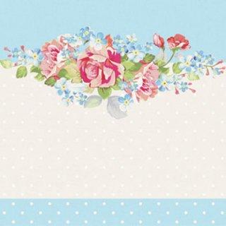ペーパーナプキン(33)paw:(5枚)Summer Bouquet-PW102
