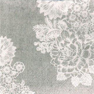 ペーパーナプキン(33)paw:(5枚)Lovely Lace-PW131