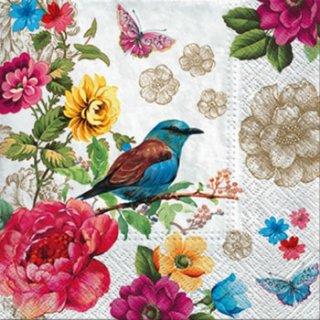 ペーパーナプキン(33)paw:(5枚)Bird of Paradise-PW173
