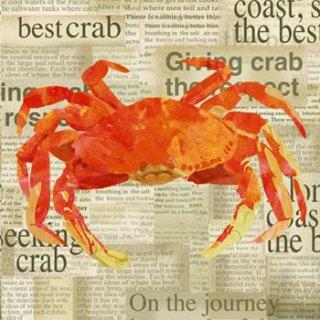 ペーパーナプキン(33)ppd:(5枚)Crab Shack-PP34