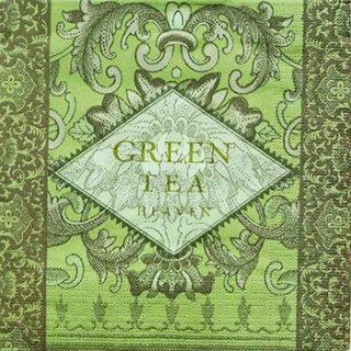 ペーパーナプキン(33)ppd:(5枚)Green Tea-PP45
