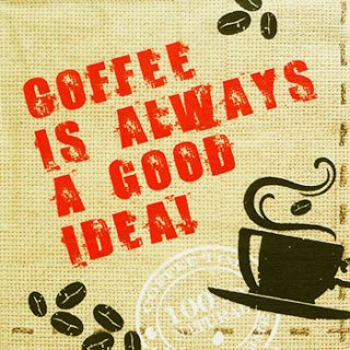 ペーパーナプキン(33)ppd:(5枚)Always Coffee-PP86