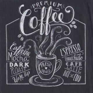 ペーパーナプキン(33)ppd:(5枚)Blackboard Coffee-PP307