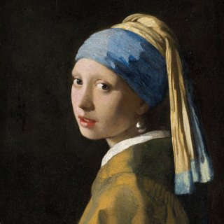 ペーパーナプキン(33)AMB:(5枚)Girl With The Pearl Earring-AM552