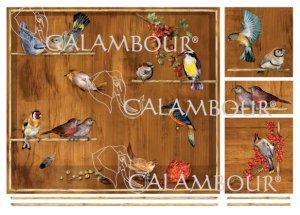 calambour:デコパージュ用ペーパー(デコパージュペーパーEASY)TLE-02