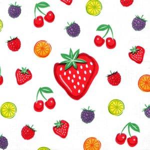 ペーパーナプキン(33)ppd:(5枚)La Frutta!-PP8