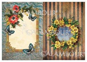 calambour:デコパージュ用ペーパー(デジタルデコパージュペーパー)DGE-114