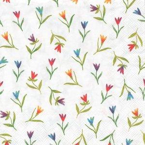 ペーパーナプキン(33)IHR:(5枚)COLOURFUL FLOWERS-IH413