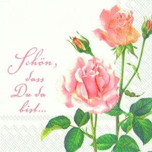 ペーパーナプキン(33)IHR:(5枚)A ROSE FOR YOU-IH239