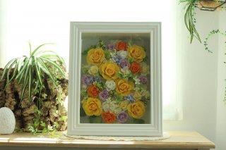 アートフレーム【グランデ】お花増量タイプ