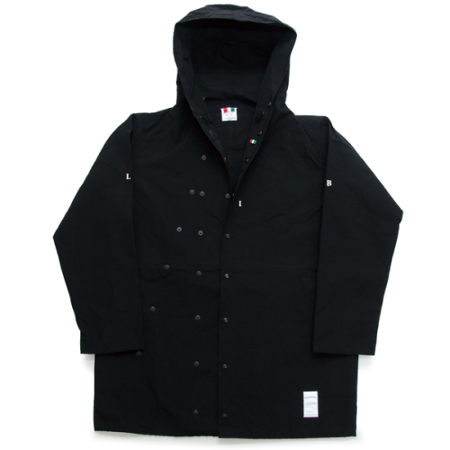 L&R NYLON HOODED COAT