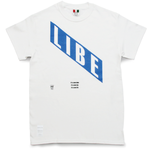 LIBE BLUE TEE