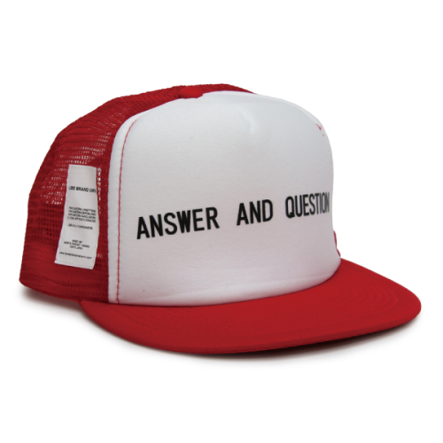 A.A.Q. TYPE MESH CAP