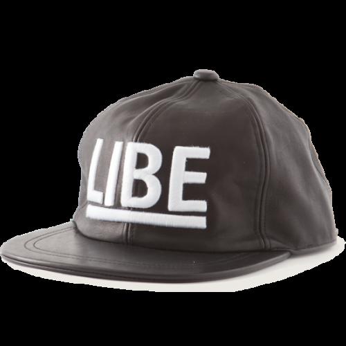 BIG LOGO LEATHER CAP