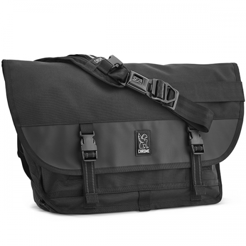 CHROME / CITIZEN MESSENGER BAG ALLBLACK