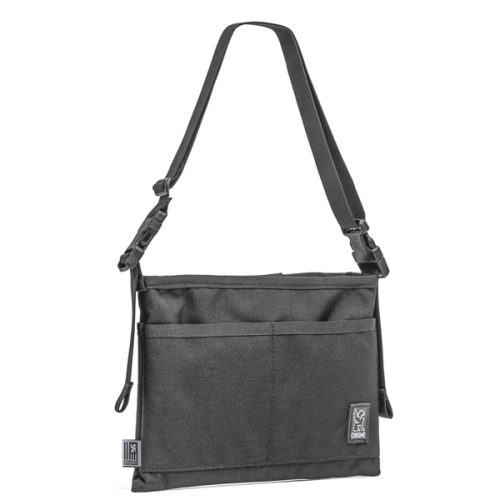 CHROME / MINI SHOULDER BAG BLACK