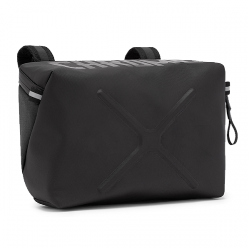 CHROME / HELIX HANDLEBAR BAG  BLACK