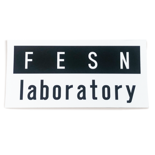 FESN laboratory LOGO STICKER (120mmx58mm)