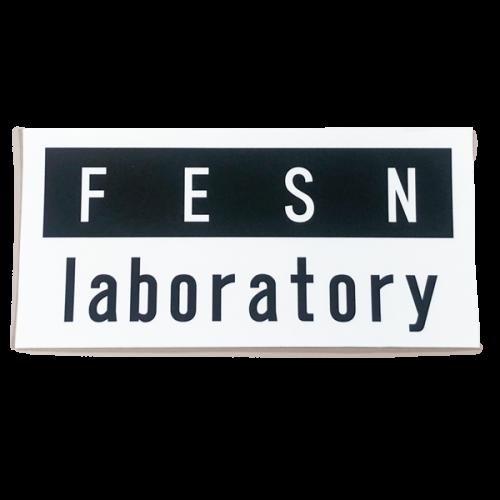 FESN laboratory LOGO STICKER (120mmx58mm)