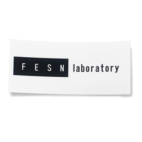 FESN laboratory LOGO STICKER (80mmx10mm)