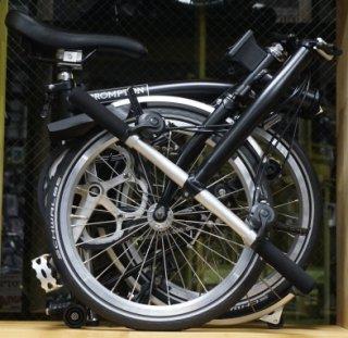2018 Brompton(ブロンプトン)S6L ブラック