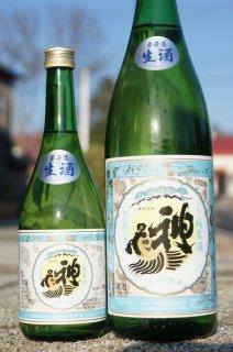 ★季節限定酒《辛口》純米酒・神亀(しんかめ)純米生酒 Light・埼玉県 神亀酒造