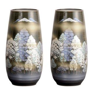 仏壇用花瓶/仏間用花瓶 爽やか森8号