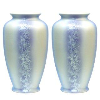 仏壇用花瓶/仏間用花瓶 箔ちらし8号