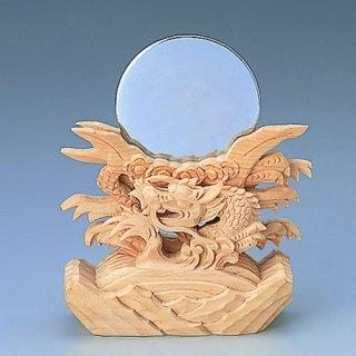 神鏡 竜上彫2.5寸