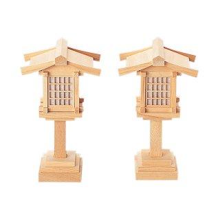 神具 春日燈籠(木曽ひのき製)6寸